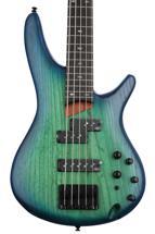 Ibanez SR655 5-string - Surreal Blue Burst