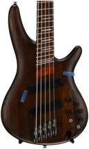 Ibanez Bass Workshop SRFF805 Multi-Scale - Walnut Flat