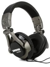 Shure SRH550DJ Closed-back Pro DJ Headphones
