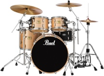 "Pearl Session Studio Classic Shell Pack - 22"" Bass Drum - Platinum Mist"