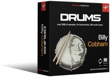 IK Multimedia Billy Cobham Drums SampleTank 3 Sound Library