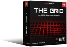 IK Multimedia The Grid SampleTank 3 Sound Library