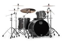 Mapex Saturn V MH Exotic 3-piece Shell Pack - Flat Black Maple Burl