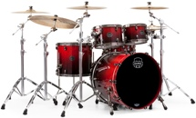 Mapex Saturn V MH Exotic 4-piece Shell Pack - Cherry Mist Maple Burl