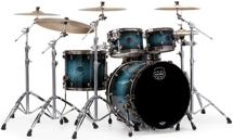 Mapex Saturn V MH Exotic 4-piece Shell Pack - Deep Water Maple Burl