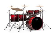 Mapex Saturn V MH Exotic 5-piece Shell Pack - Cherry Mist Maple Burl