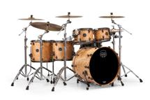Mapex Saturn V MH Exotic 5-piece Shell Pack - Natural Maple Burl