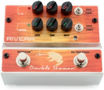 Rivera Double Shaman 2-channel Overdrive Pedal