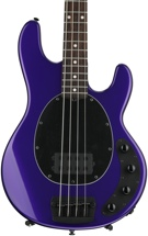 Ernie Ball Music Man StingRay 4 H 3-EQ - Firemist Purple with Matching Headstock, Rosewood Fingerboard