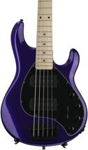 Ernie Ball Music Man Stingray 5 HH - Firemist Purple, Maple Fingerboard