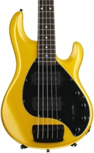 Ernie Ball Music Man Stingray 5 HH - Firemist Gold, Rosewood Fingerboard