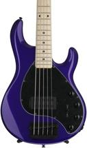Ernie Ball Music Man Stingray 5 H - Firemist Purple, Maple Fingerboard