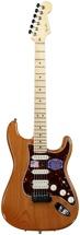 Fender American Deluxe Strat HSS - Amber