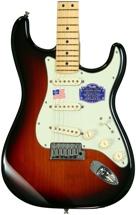 Fender American Deluxe Strat - 3-Color Sunburst, Maple