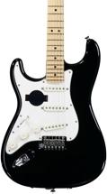 Fender American Standard Stratocaster, Left handed - Black with Maple Fingerboard