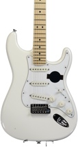 Fender American Standard Stratocaster - Olympic White with Maple Fingerboard