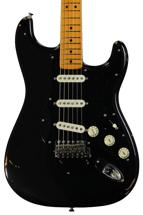 Fender Custom Shop David Gilmour Signature Series Stratocaster Relic - Black over 3-color Sunburst