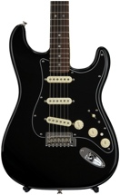Fender Deluxe Stratocaster - Black with Rosewood Fingerboard