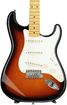 Fender Eric Johnson Stratocaster - 2-color Sunburst with Maple Fingerboard