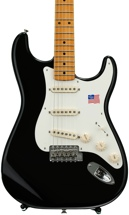 Fender Eric Johnson Stratocaster - Black with Maple Fingerboard