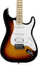 Fender Standard Stratocaster HSS - Brown Sunburst with Maple Fingerboard