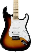 Fender Standard Stratocaster HSS - Brown Sunburst with Maple Fingerboard