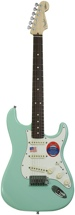 Fender Jeff Beck Stratocaster - Surf Green with Rosewood Fingerboard
