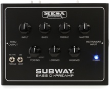 Mesa/Boogie Subway Bass DI-Preamp Bass Preamp and DI Box