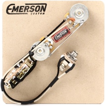 Emerson Custom 3-way Reverse Layout Prewired Kit for Fender Telecasters - 250k Pots