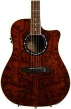 Fender T-Bucket 300-CE - Ash, Trans Dark Brown