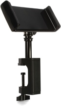 On-Stage Stands Grip-On Universal Device Holder with u-mount Bullnose Clamp