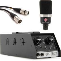 Neumann TLM 102 with Universal Audio SOLO/610 - Matte Black