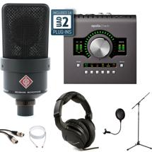 Neumann TLM 103 Black + Apollo Twin Duo MKII