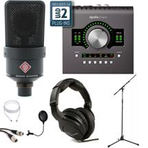 Neumann TLM 103 Black + Apollo Twin Quad