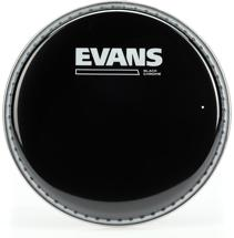 Evans TT06CHR Black Chrome Tom Batter Head - 6