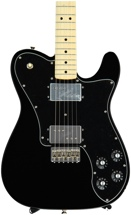 Fender '72 Telecaster Deluxe - Black with Maple Fingerboard