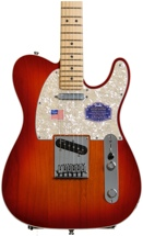 Fender American Deluxe Telecaster - Aged Cherry Burst, Maple