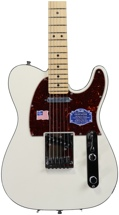 Fender American Deluxe Telecaster - Olympic Pearl, Maple
