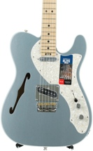 Fender American Elite Telecaster Thinline - Mystic Ice Blue with Maple Fingerboard