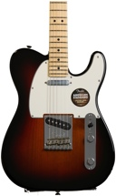 Fender American Standard Telecaster - 3-color Sunburst with Maple Fingerboard