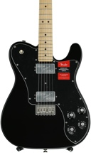 Fender American Professional Deluxe ShawBucker Telecaster - Black with Maple Fingerboard