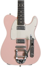 Fender Custom Shop Double TVJ Telecaster with B-5 Bigsby - Shell Pink