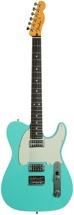 Fender Custom Shop Double TVJ Telecaster NOS - Sea Foam Green/Black