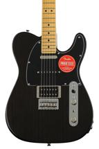 Fender Modern Player Telecaster Plus - Charcoal Transparent with Maple Fingerboard
