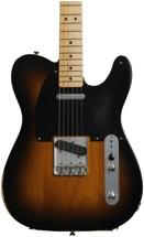 Fender Road Worn '50s Telecaster - 2-color Sunburst with Maple Fingerboard