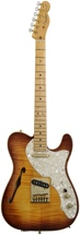 Fender American Select Series Telecaster - Thinline, Violin Burst, Gold HW