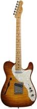 Fender American Select Series Telecaster - Thinline, Violin Burst