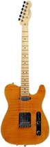 Fender Select Carved Top Telecaster - Maple Amber