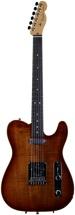 Fender Select Carved Koa Top Telecaster - KOA Sienna Edge Burst