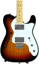 Squier Vintage Modified '72 Tele Thinline - 3-tone Sunburst
